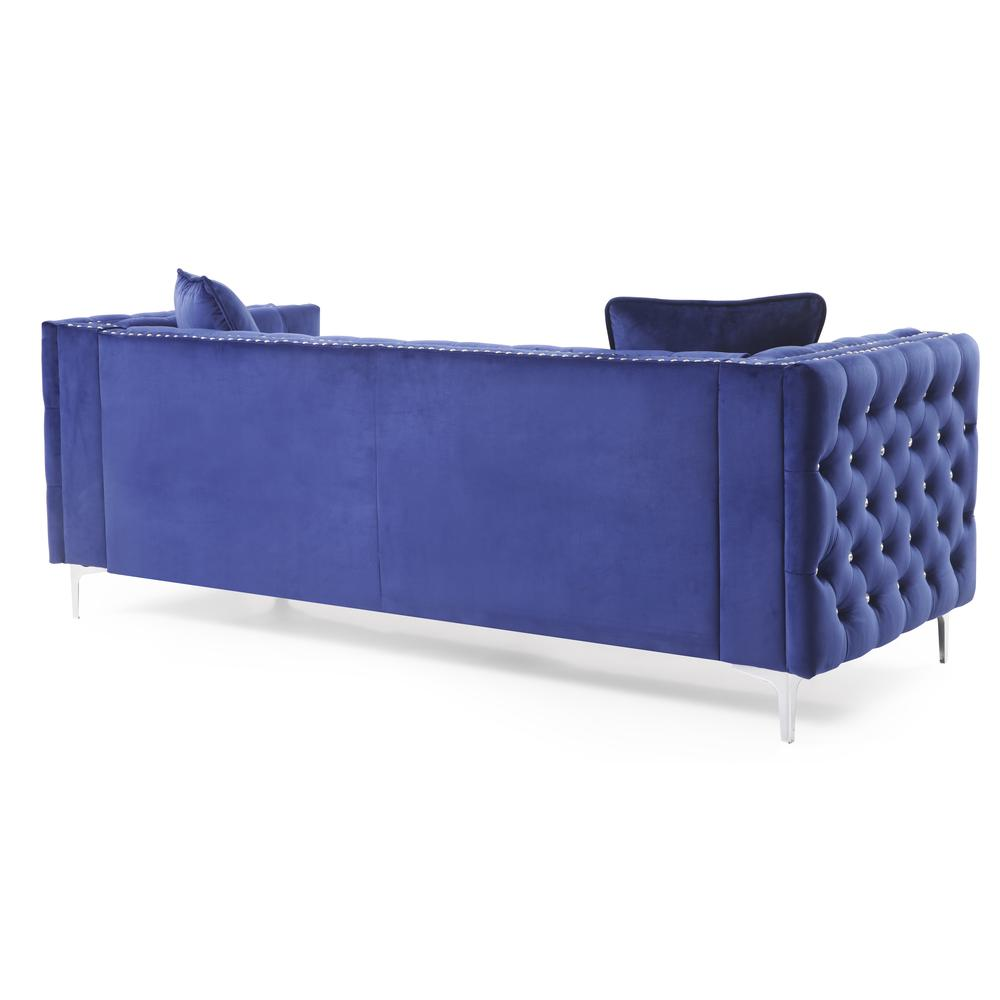 Glory Furniture Paige G829a S Sofa Blue