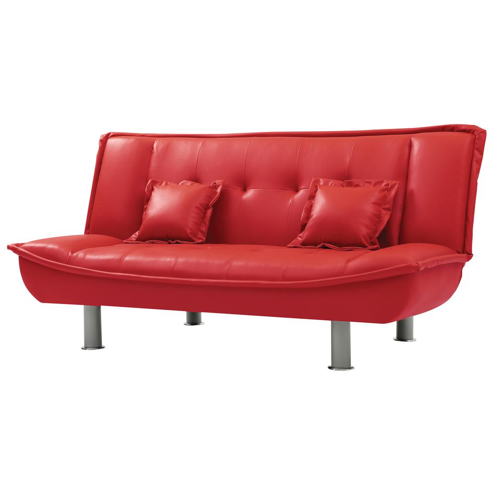 Glory Furniture Lionel G134 S Sofa Bed Red