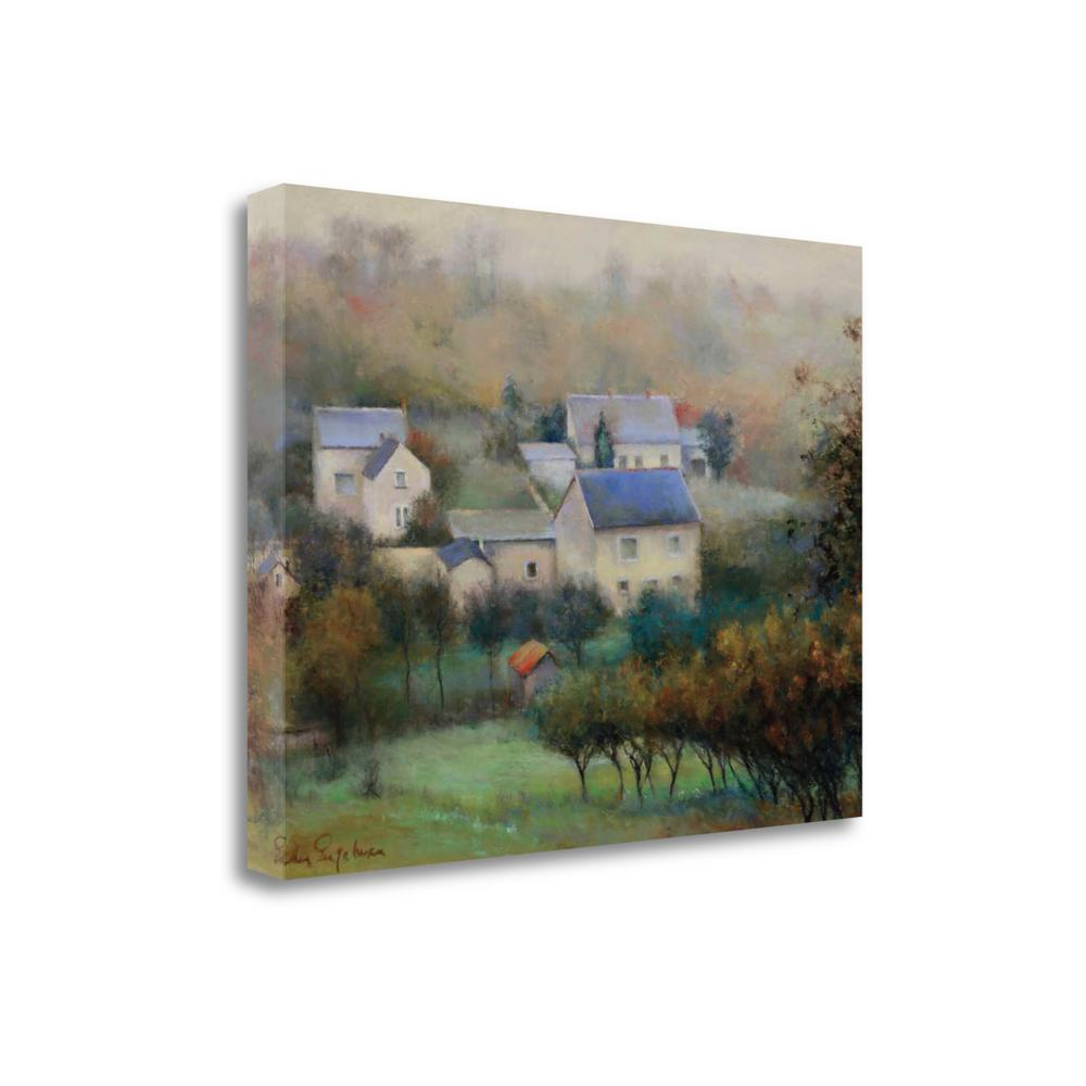 """Countryside Hamlet"" By Esther Engelman, Giclee Print on Gallery Wrap Canvas. Picture 1"