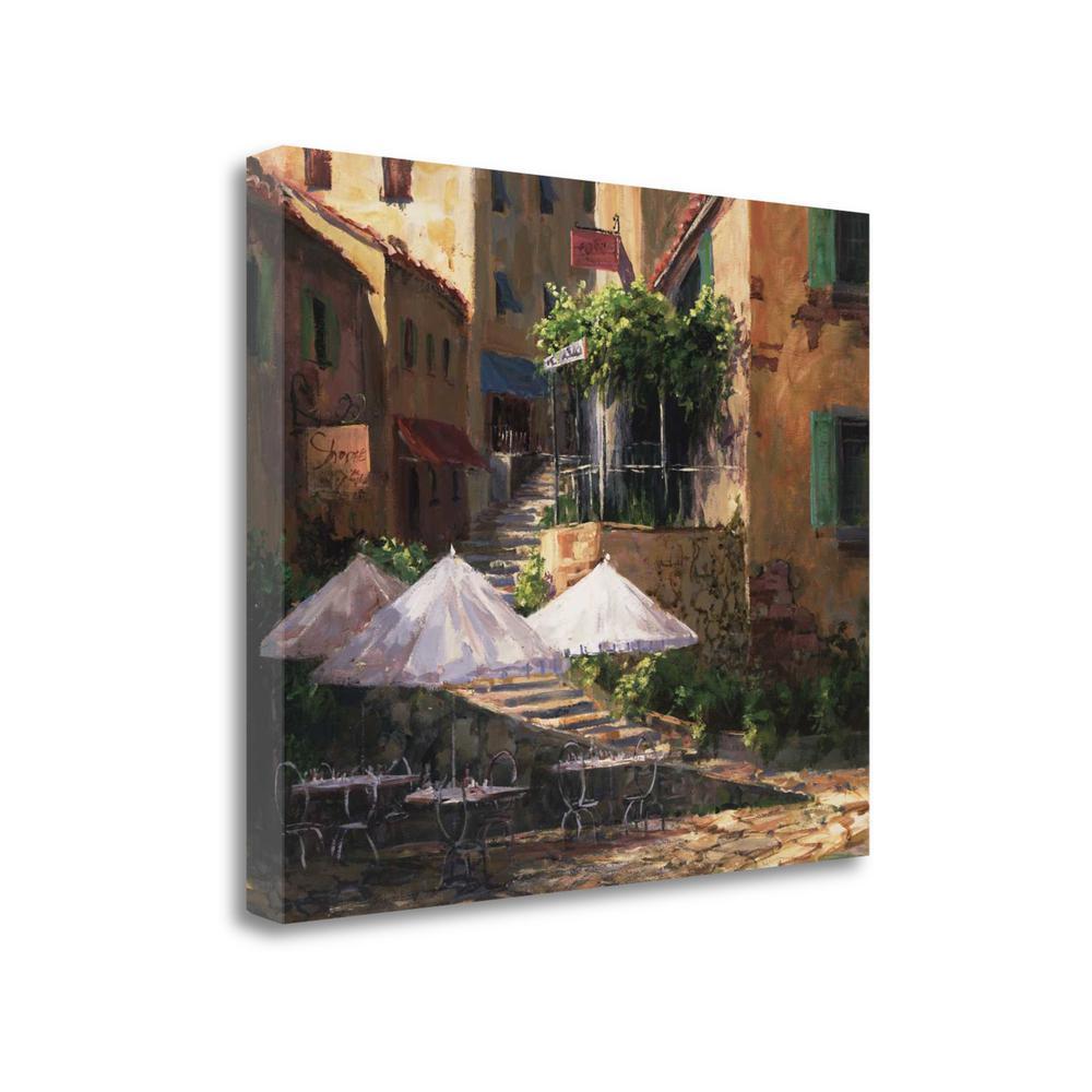 """Villa Garzon"" By Art Fronckowiak, Giclee Print on Gallery Wrap Canvas. Picture 1"