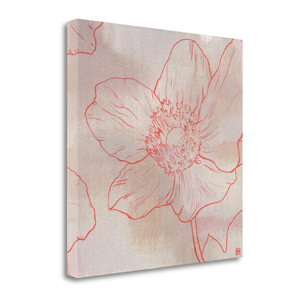 """""""Anemone II"""" By Stephanie Han, Fine Art Giclee Print on Gallery Wrap Canvas. Picture 1"""
