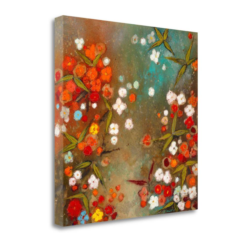 """Gardens In The Mist XIV"" By Aleah Koury, Giclee Print on Gallery Wrap Canvas. Picture 1"