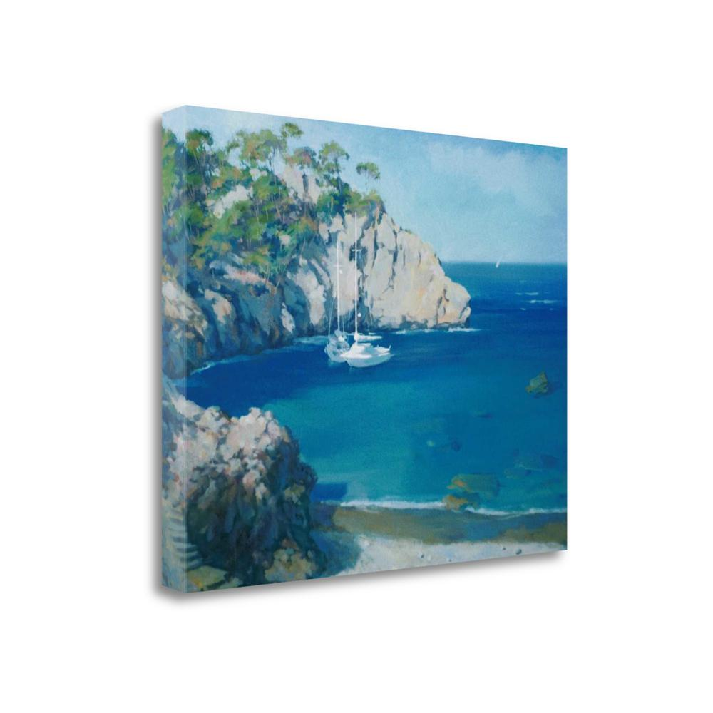 """Cala Secreta"" By Alex Hook Krioutchkov, Giclee Print on Gallery Wrap Canvas. The main picture."