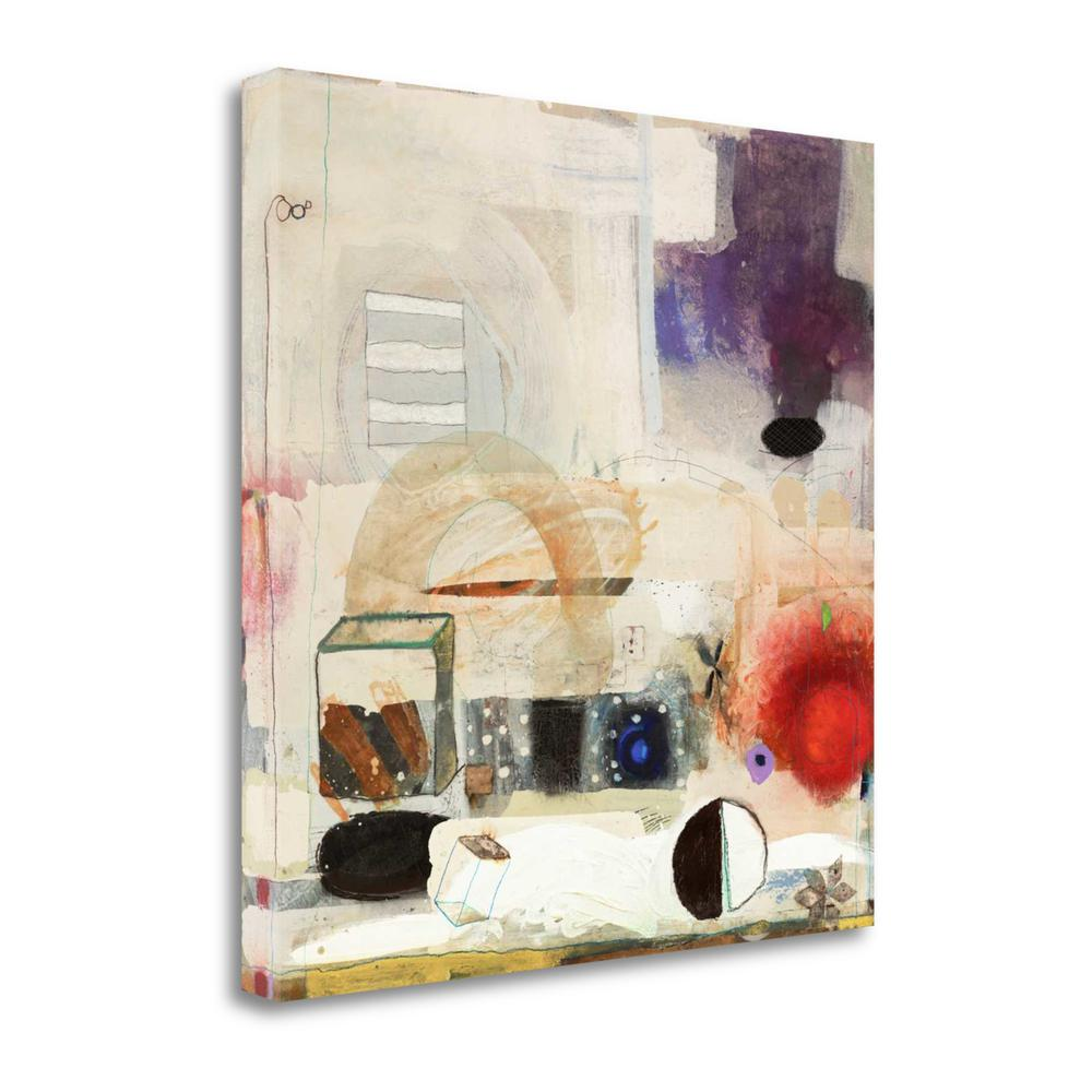 """""""Changed My Mind 2"""" By Aleah Koury, Giclee Print on Gallery Wrap Canvas. Picture 1"""