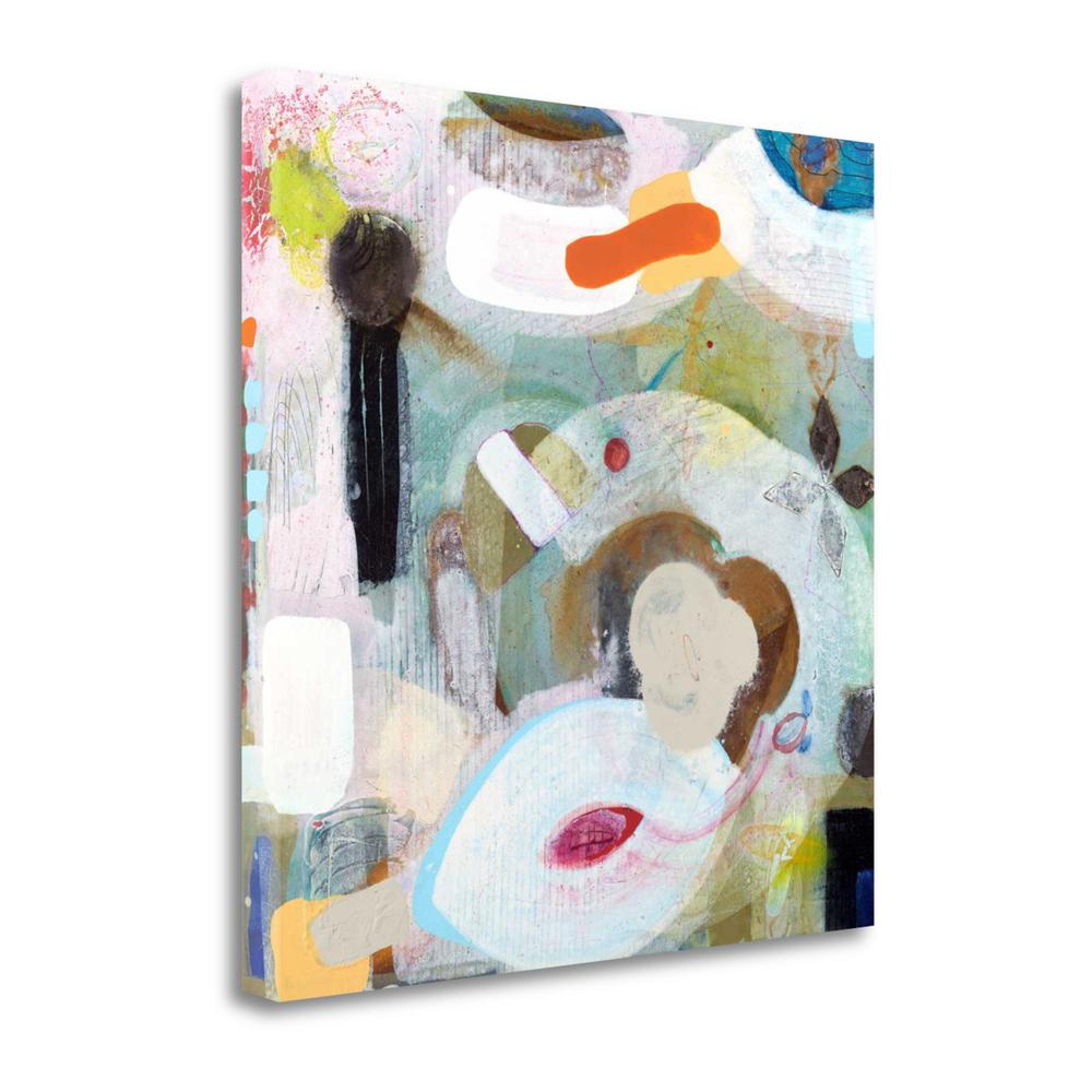 """""""Changed My Mind 5"""" By Aleah Koury, Giclee Print on Gallery Wrap Canvas. Picture 1"""