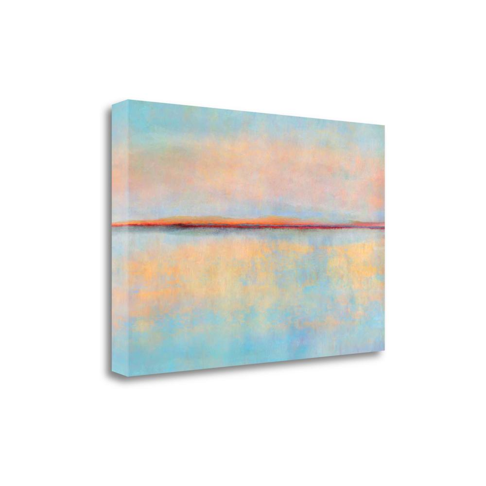 """""""After Sunset"""" By Cora Niele, Fine Art Giclee Print on Gallery Wrap Canvas. Picture 1"""