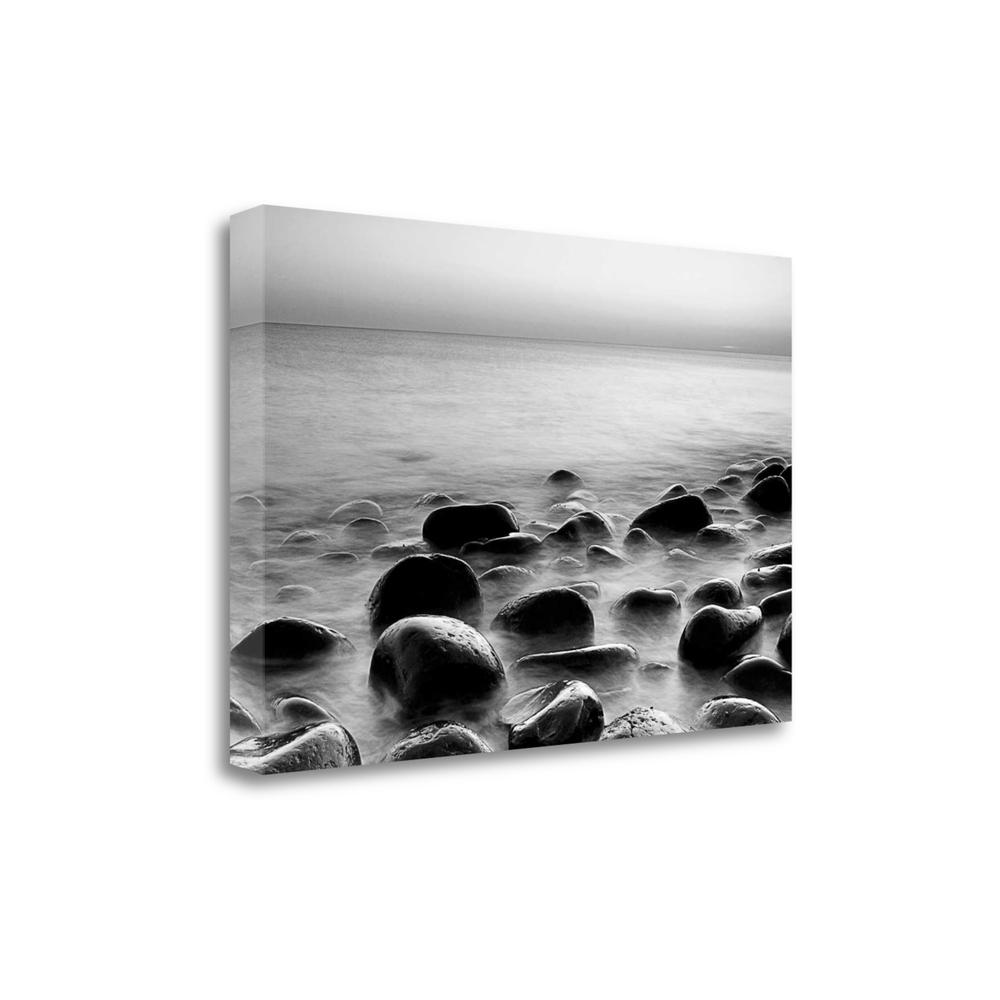 """Rocks In Mist 3"" By Photoinc Studio, Giclee Print on Gallery Wrap Canvas. Picture 1"