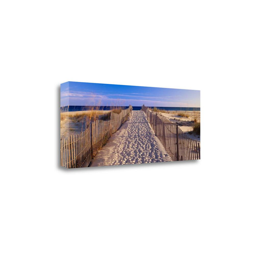 """""""Pathway To The Beach"""" By Joseph Sohm, Giclee Print on Gallery Wrap Canvas. Picture 1"""