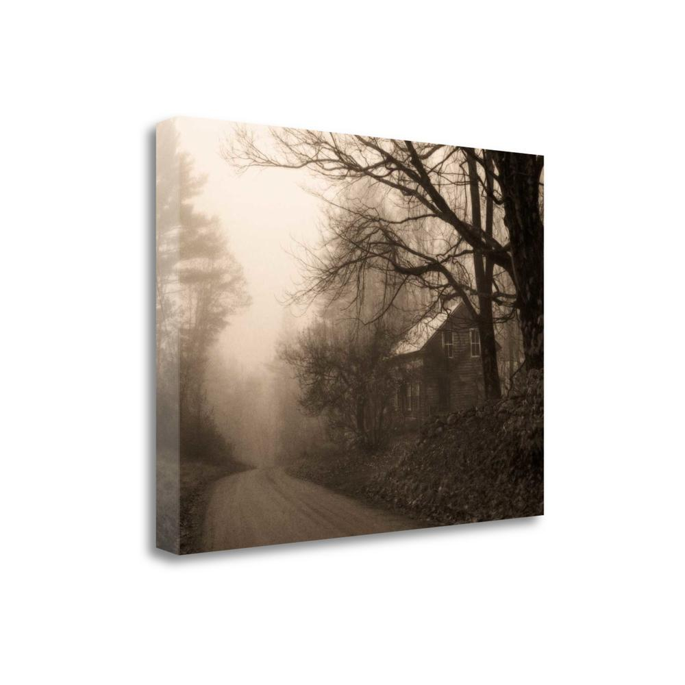 """""""Parish Hill Road"""" By Christine Triebert, Giclee Print on Gallery Wrap Canvas. Picture 1"""