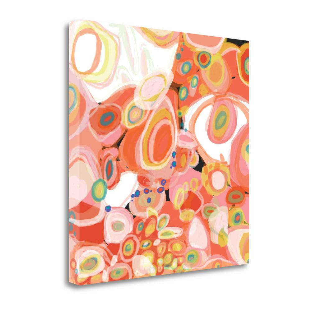 """""""Watermelon Cocktail"""" By Jan Weiss, Giclee Print on Gallery Wrap Canvas. Picture 1"""