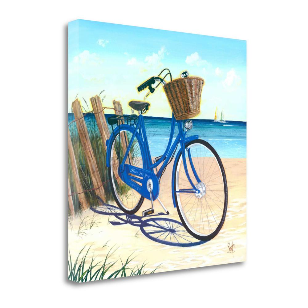 """Blue By You"" By Scott Westmoreland, Giclee Print on Gallery Wrap Canvas. Picture 1"