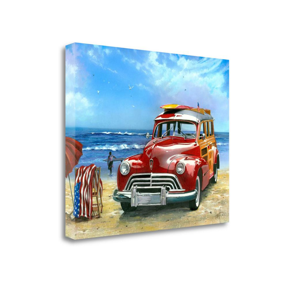 """""""Surfin Usa"""" By Scott Westmoreland, Giclee Print on Gallery Wrap Canvas. Picture 1"""