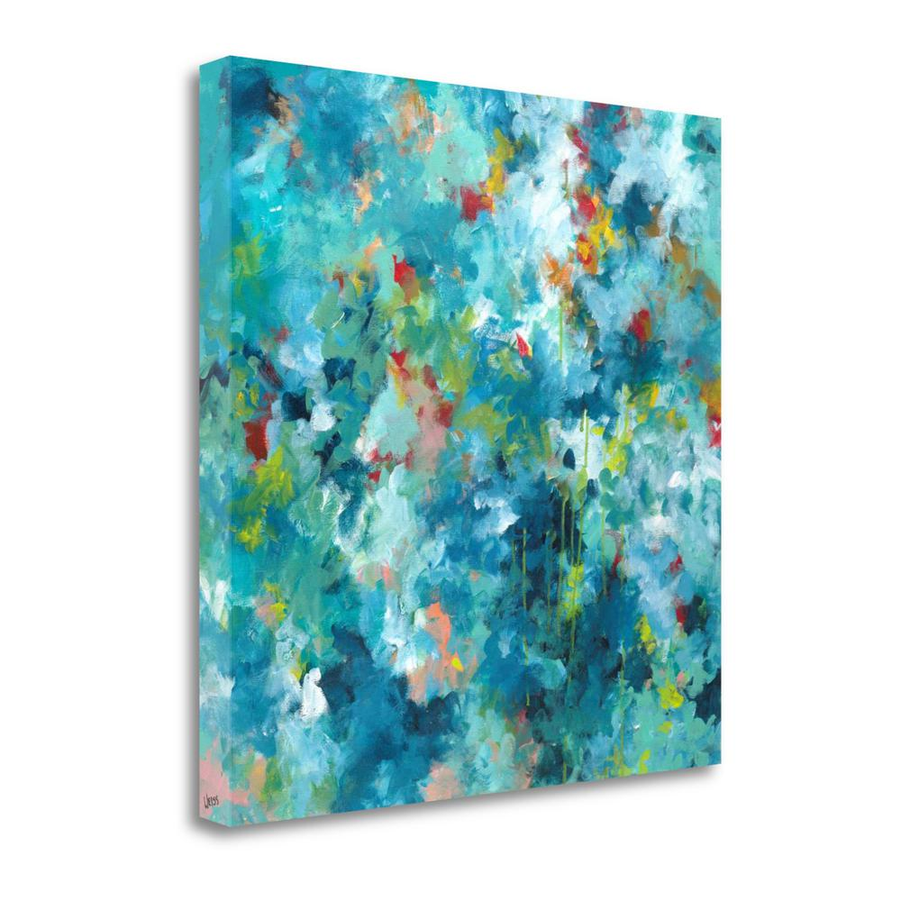 """""""Rainforest"""" By Jan Weiss, Fine Art Giclee Print on Gallery Wrap Canvas. Picture 1"""