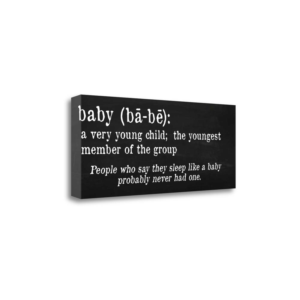 """""""Baby Definition"""" By Anna Quach, Fine Art Giclee Print on Gallery Wrap Canvas. Picture 1"""