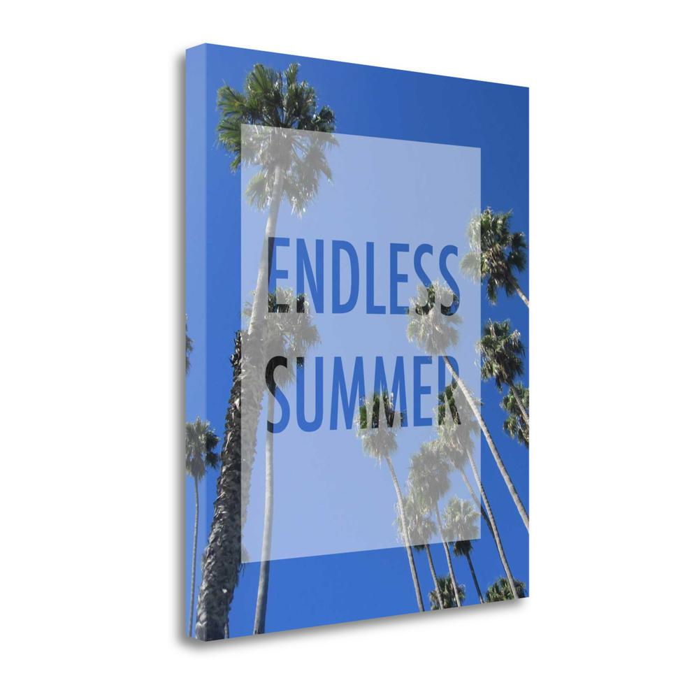 """Endless Summer"" By Anna Quach, Fine Art Giclee Print on Gallery Wrap Canvas. Picture 1"