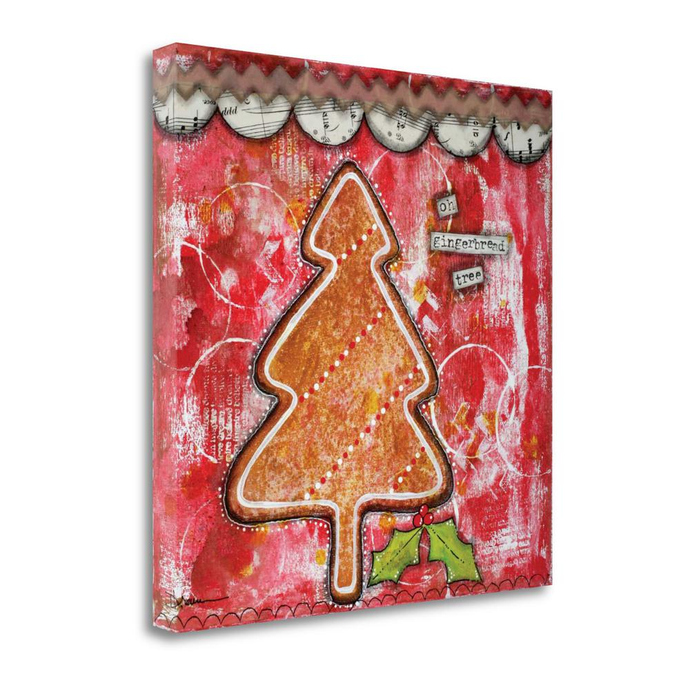 """""""Oh Gingerbread"""" By Denise Braun, Fine Art Giclee Print on Gallery Wrap Canvas. Picture 1"""