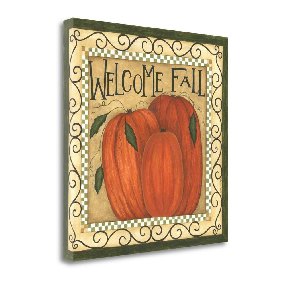 """""""Welcome Fall"""" By Cindy Shamp, Fine Art Giclee Print on Gallery Wrap Canvas. Picture 1"""