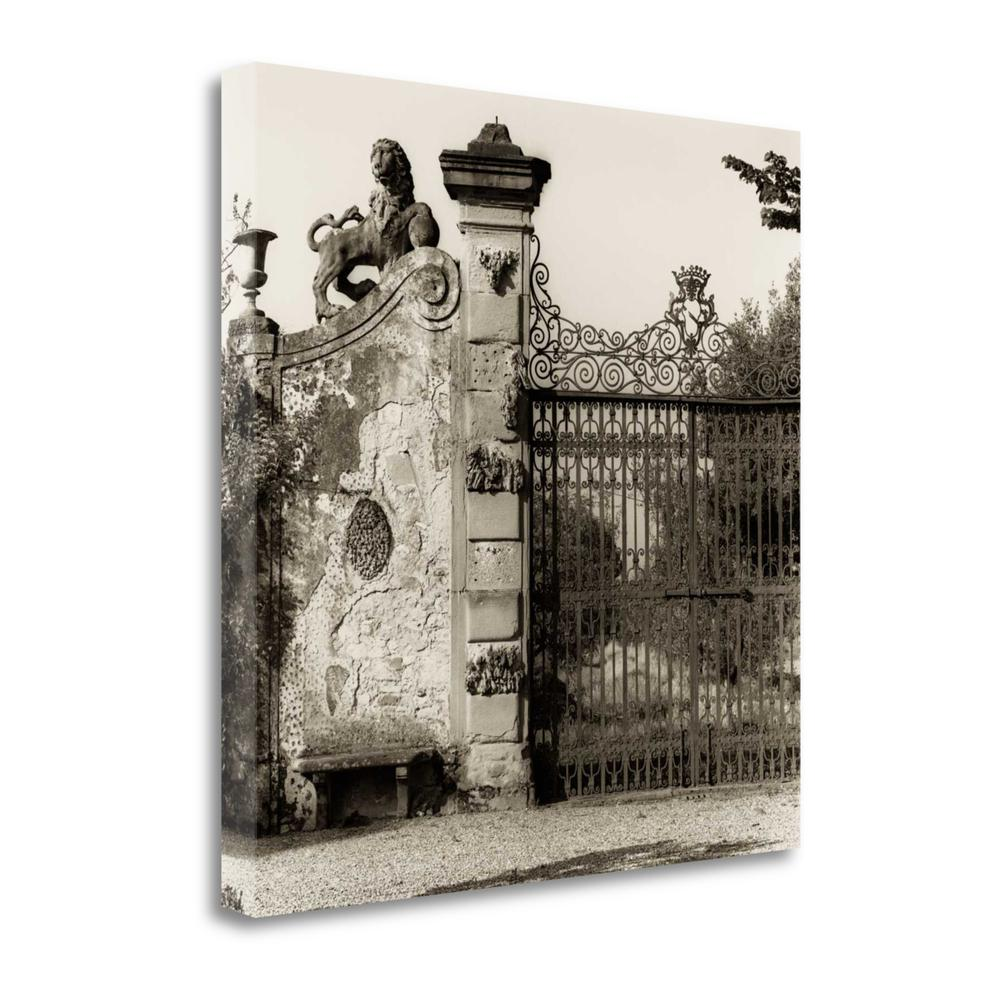 """""""Tuscan Gate"""" By Alan Blaustein, Fine Art Giclee Print on Gallery Wrap Canvas. Picture 1"""