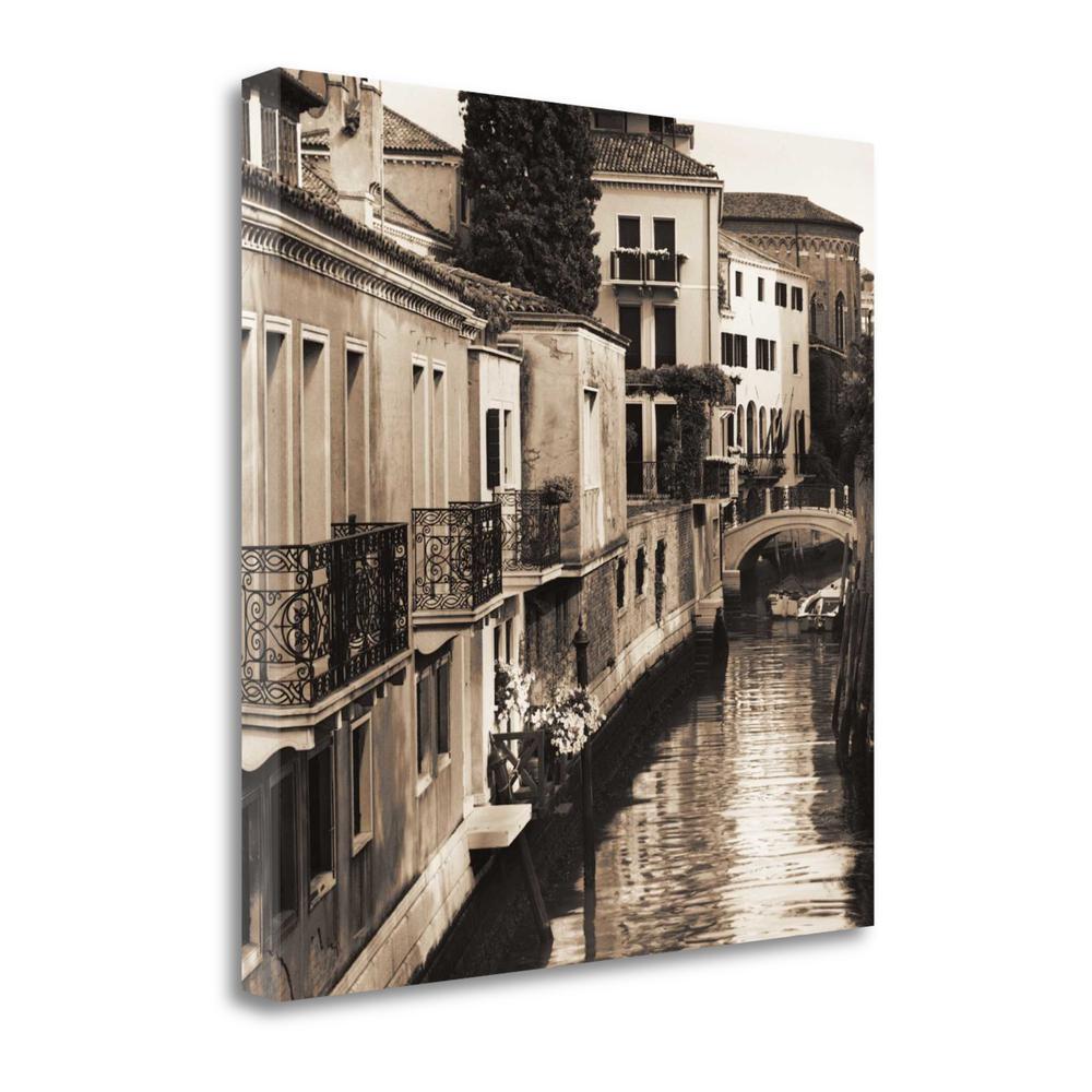 """Ponti Di Venezia No. 4"" By Alan Blaustein, Giclee Print on Gallery Wrap Canvas. Picture 1"