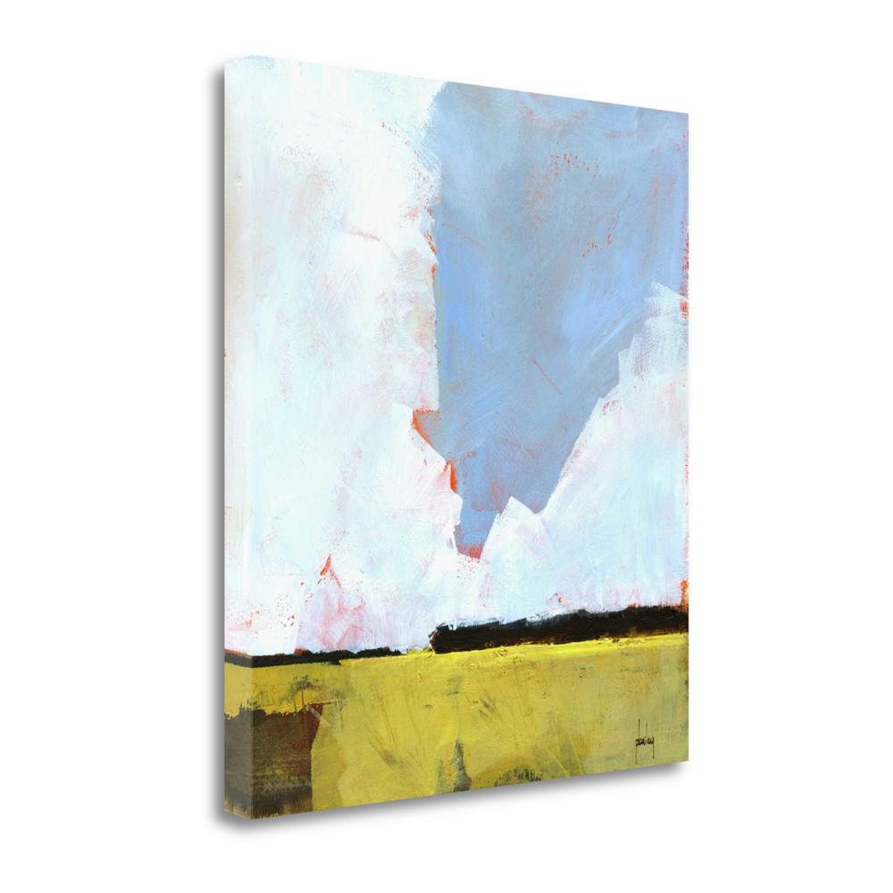 """Barley Field"" By Paul Bailey, Fine Art Giclee Print on Gallery Wrap Canvas. Picture 1"