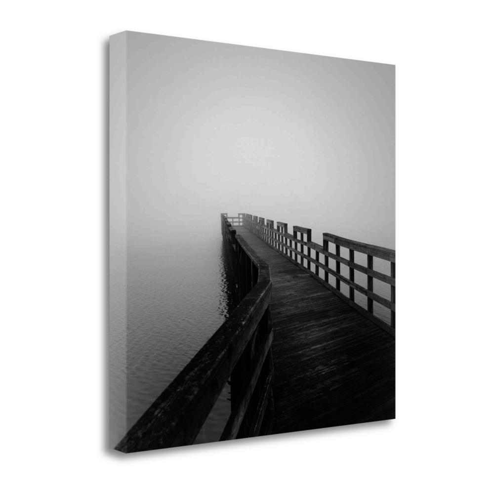 """Concord Pier"" By Nicholas Bell, Fine Art Giclee Print on Gallery Wrap Canvas. Picture 1"