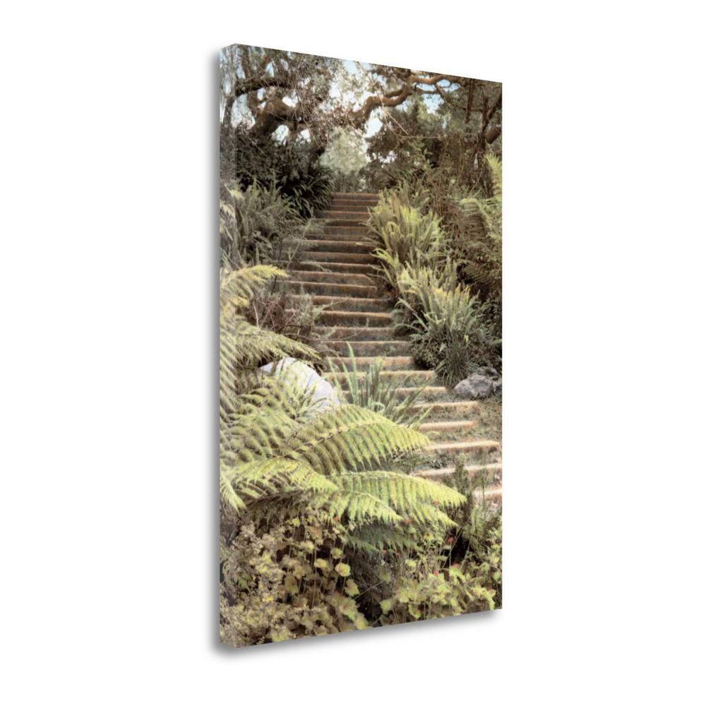 """Secret Steps"" By Laura Culver, Fine Art Giclee Print on Gallery Wrap Canvas. Picture 1"