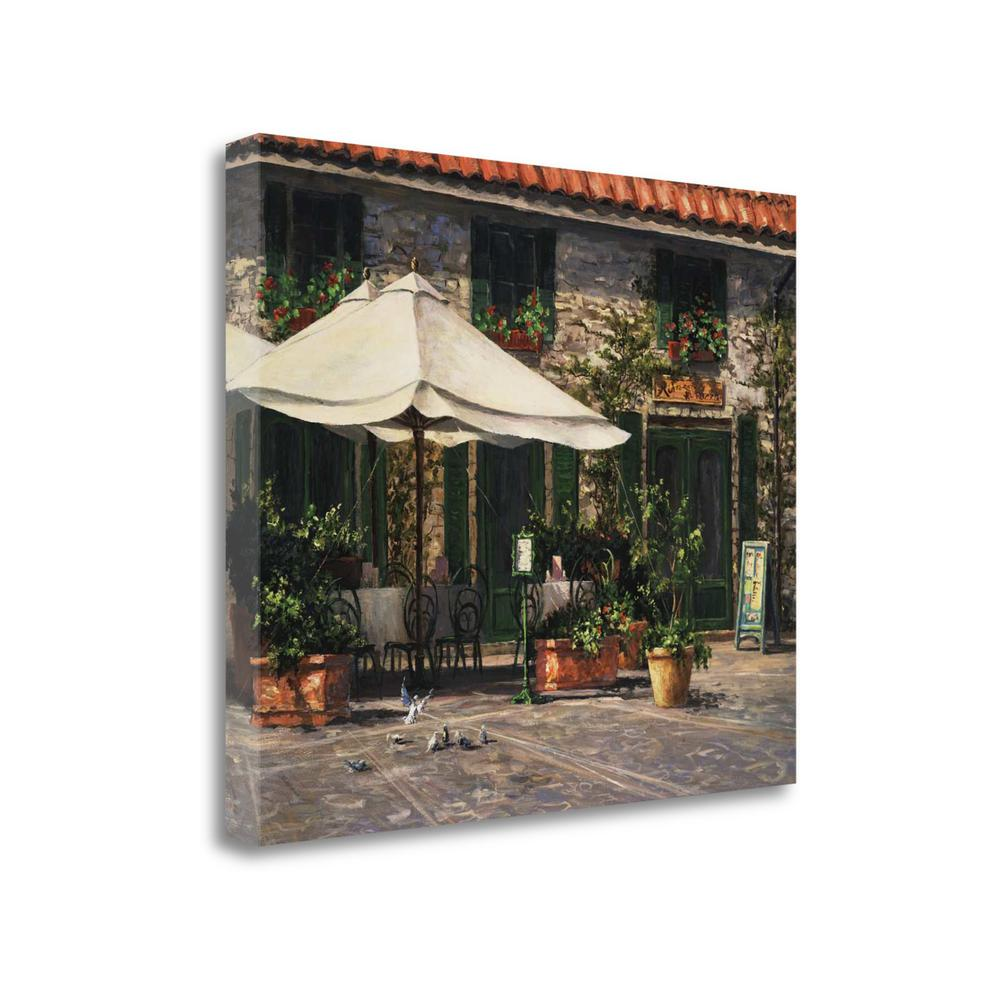 """Ristorante Il Pozzo"" By Art Fronckowiak, Giclee Print on Gallery Wrap Canvas"