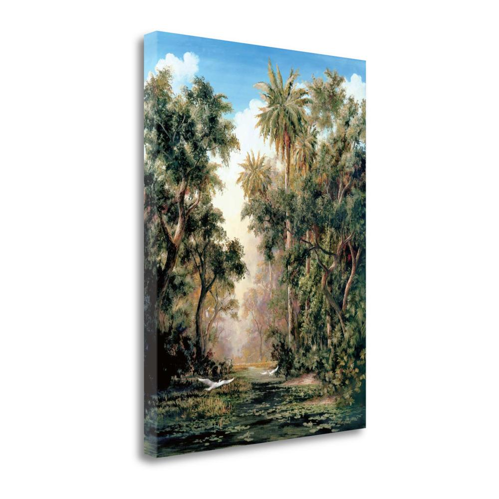 """""""Birds On Lost River"""" By Art Fronckowiak, Giclee Print on Gallery Wrap Canvas. Picture 1"""
