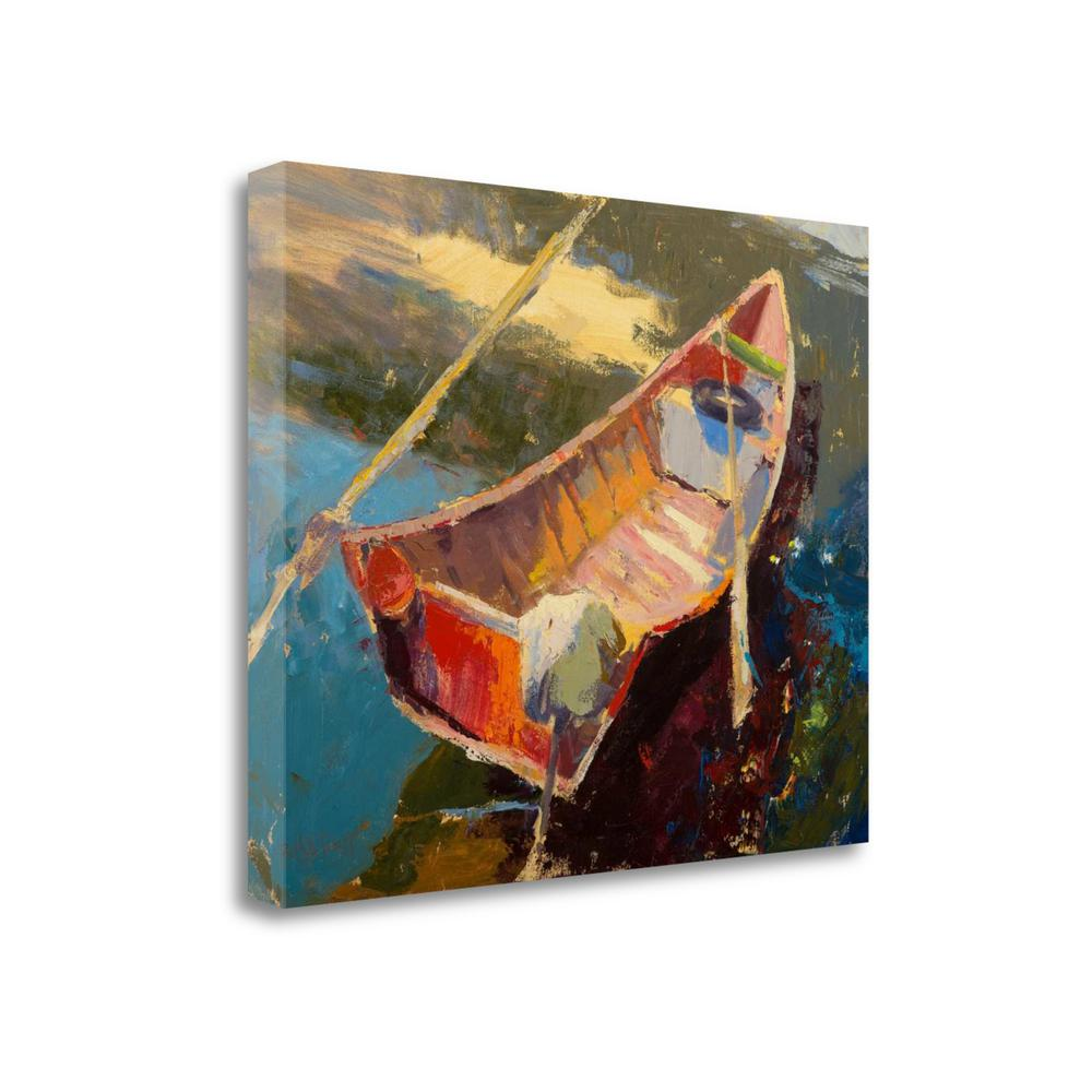 """""""Italian Wayfarer"""" By Beth A. Forst, Giclee Print on Gallery Wrap Canvas. Picture 1"""