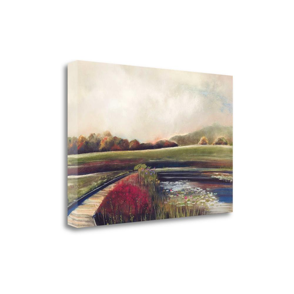 """Edge Of Autumn"" By Aleah Koury, Fine Art Giclee Print on Gallery Wrap Canvas. Picture 1"