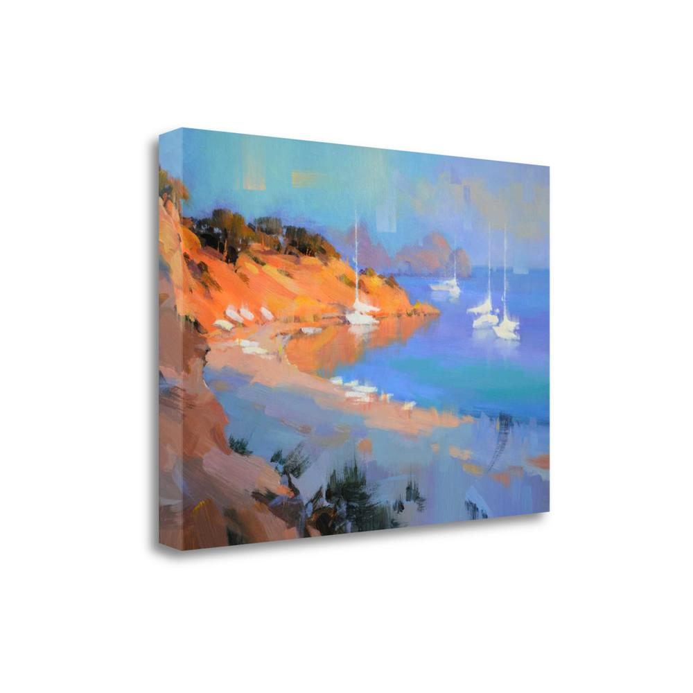 """""""Evening Boats"""" By Alex Hook Krioutchkov, Giclee Print on Gallery Wrap Canvas. Picture 1"""