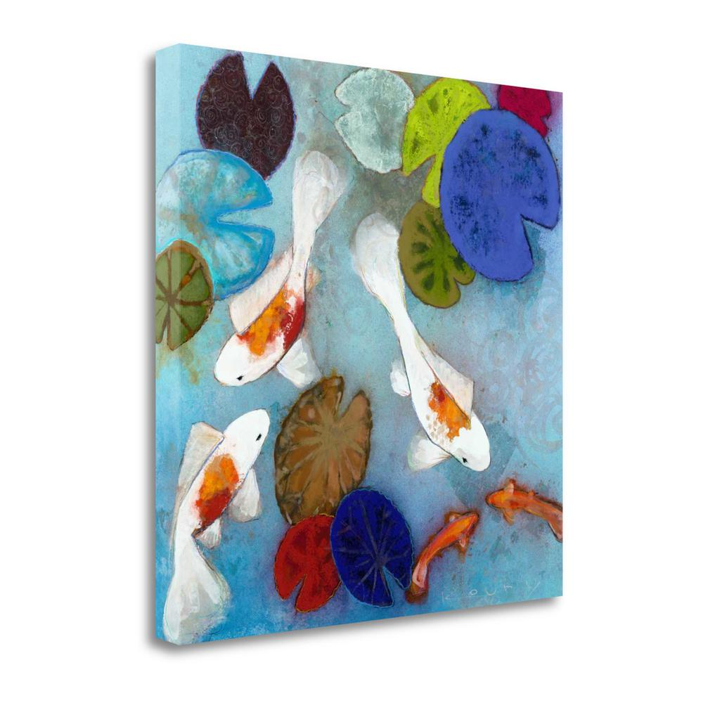 """""""Koi 1"""" By Aleah Koury, Fine Art Giclee Print on Gallery Wrap Canvas. Picture 1"""