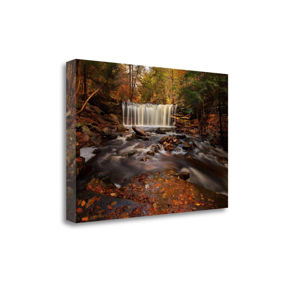 """Rushing Water"" By Natalie Mikaels, Giclee Print on Gallery Wrap Canvas. Picture 1"