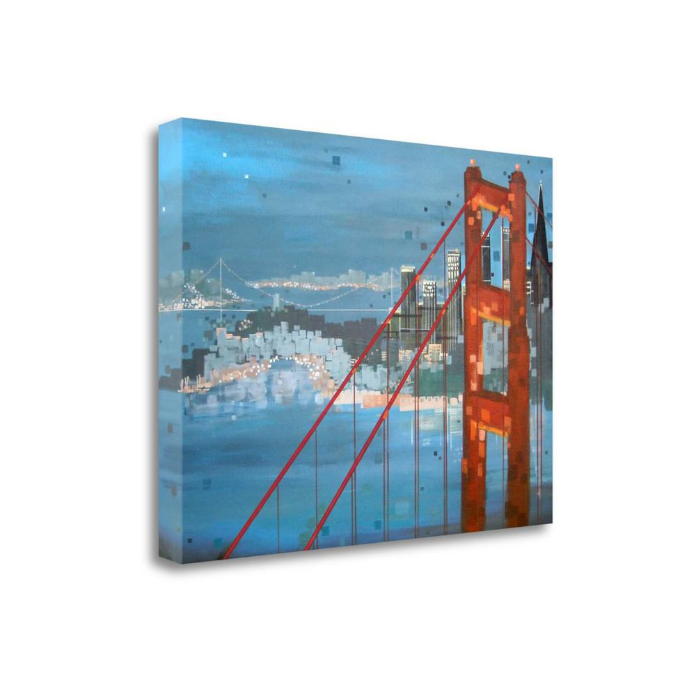 """""""Twilight San Francisco"""" By Carol Joy Shannon, Giclee on Gallery Wrap Canvas. Picture 1"""