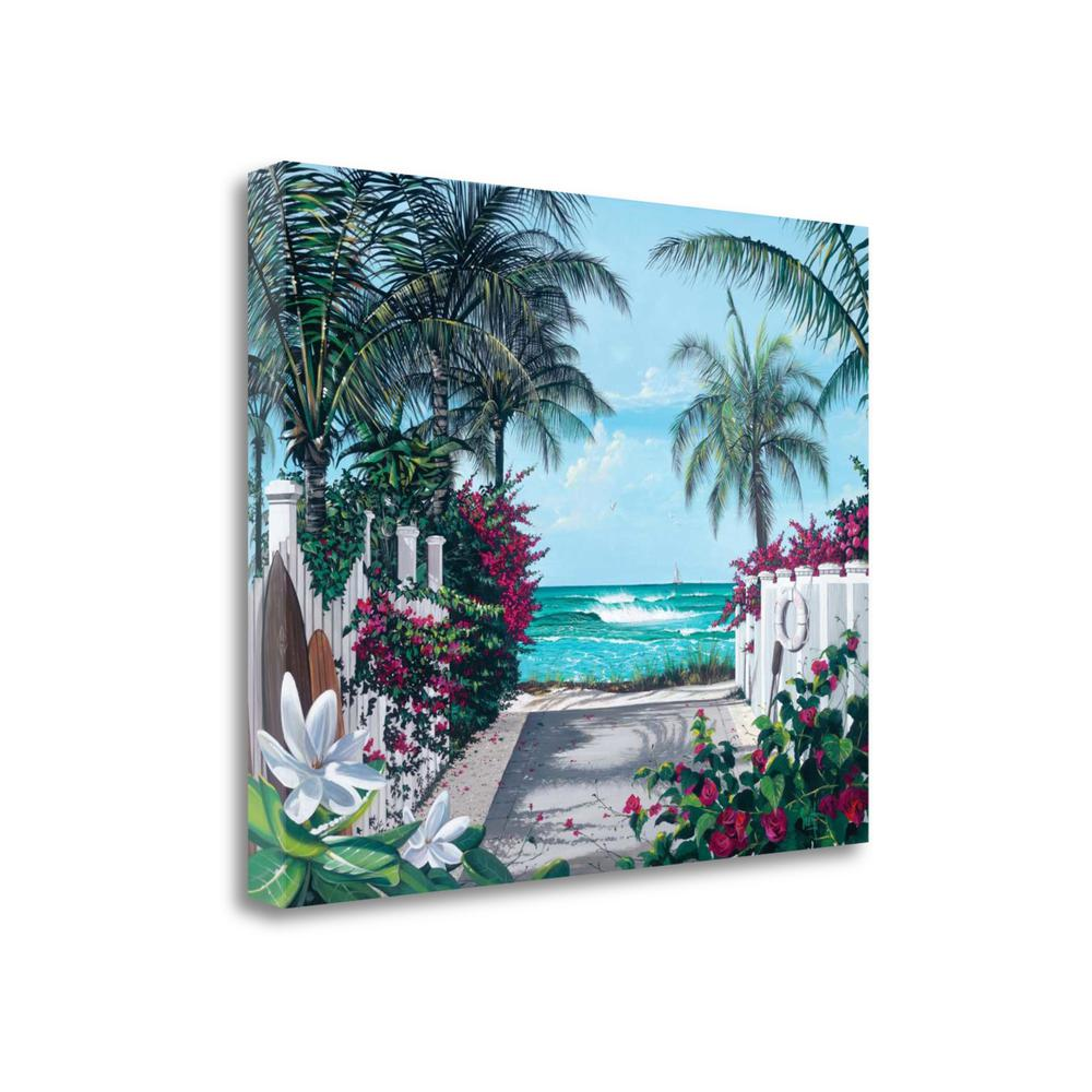 """""""Pathway To Paradise"""" By Scott Westmoreland, Giclee Print on Gallery Wrap Canvas. Picture 1"""