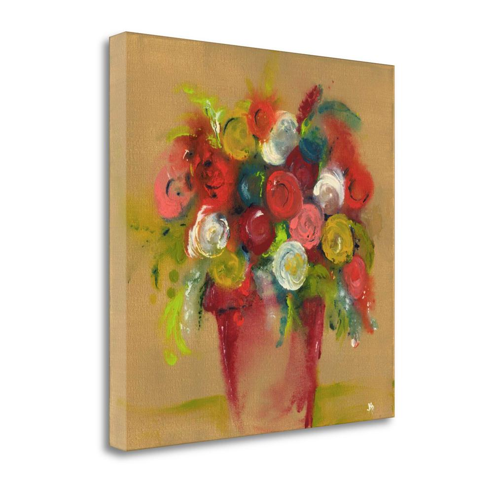 """""""Finger Painting Tan"""" By Amber Berninger, Giclee Print on Gallery Wrap Canvas. Picture 1"""