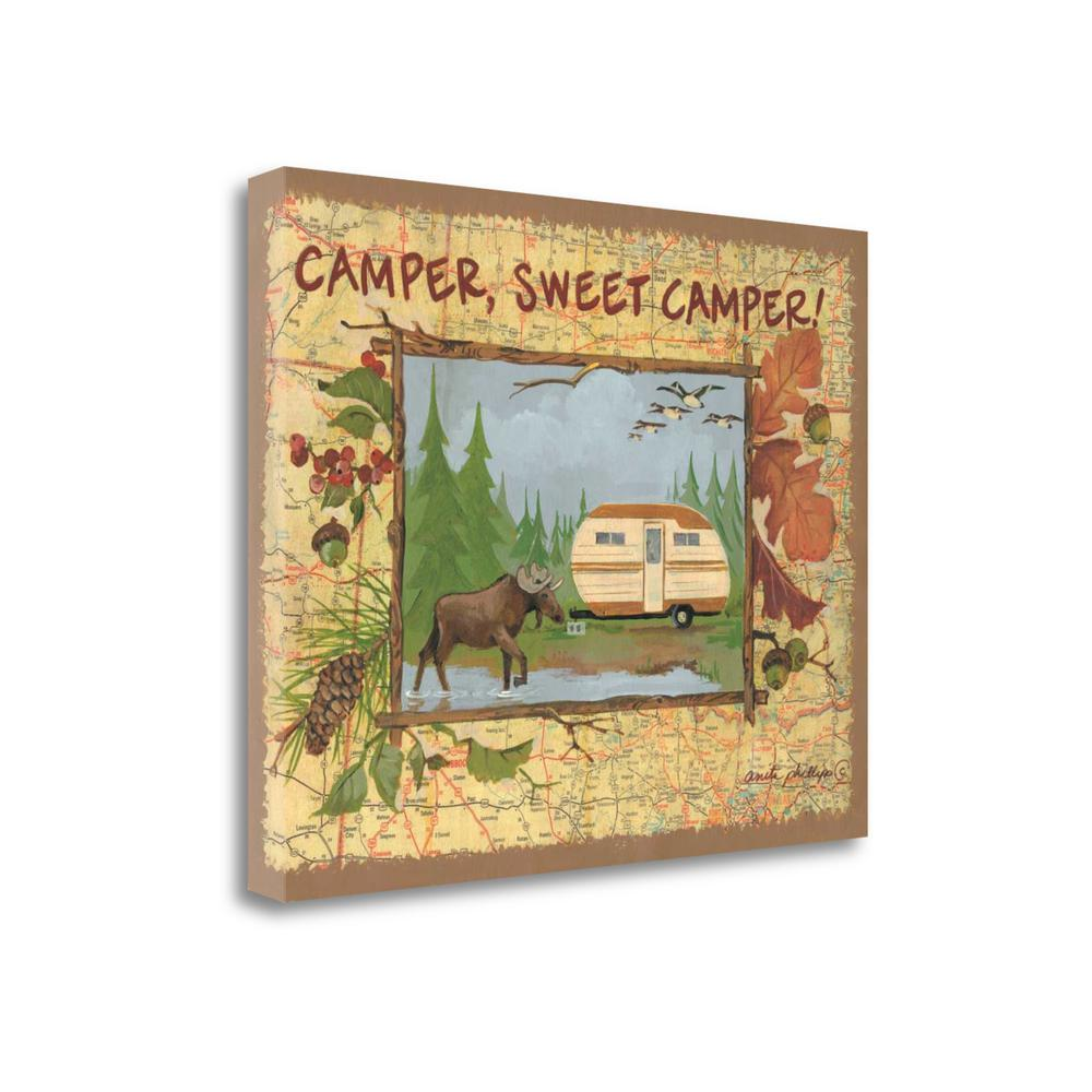 """""""Camper Sweet Camper"""" By Anita Phillips, Giclee Print on Gallery Wrap Canvas. Picture 1"""