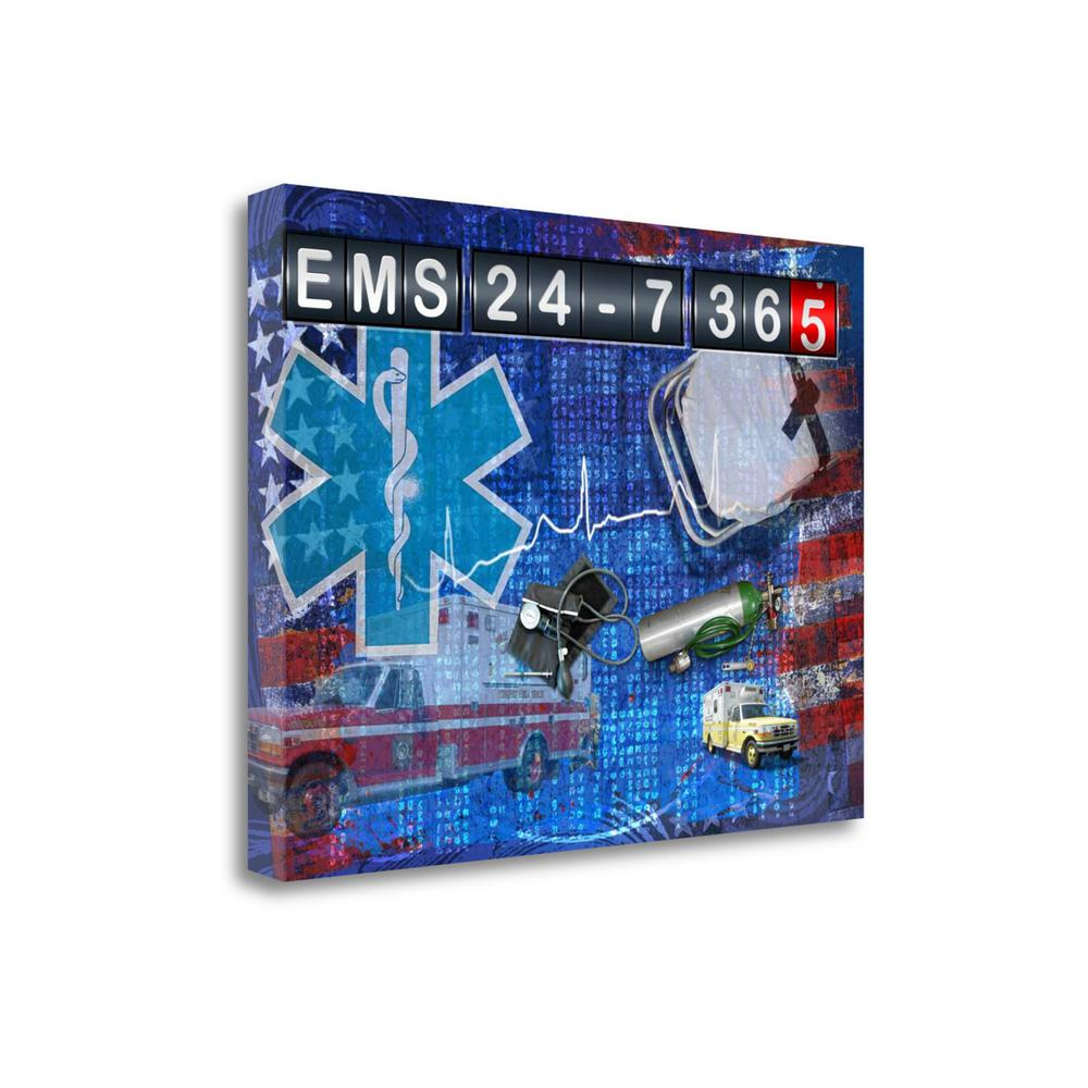 """""""Ems 24 - 7 365"""" By Jim Baldwin, Fine Art Giclee Print on Gallery Wrap Canvas. Picture 1"""