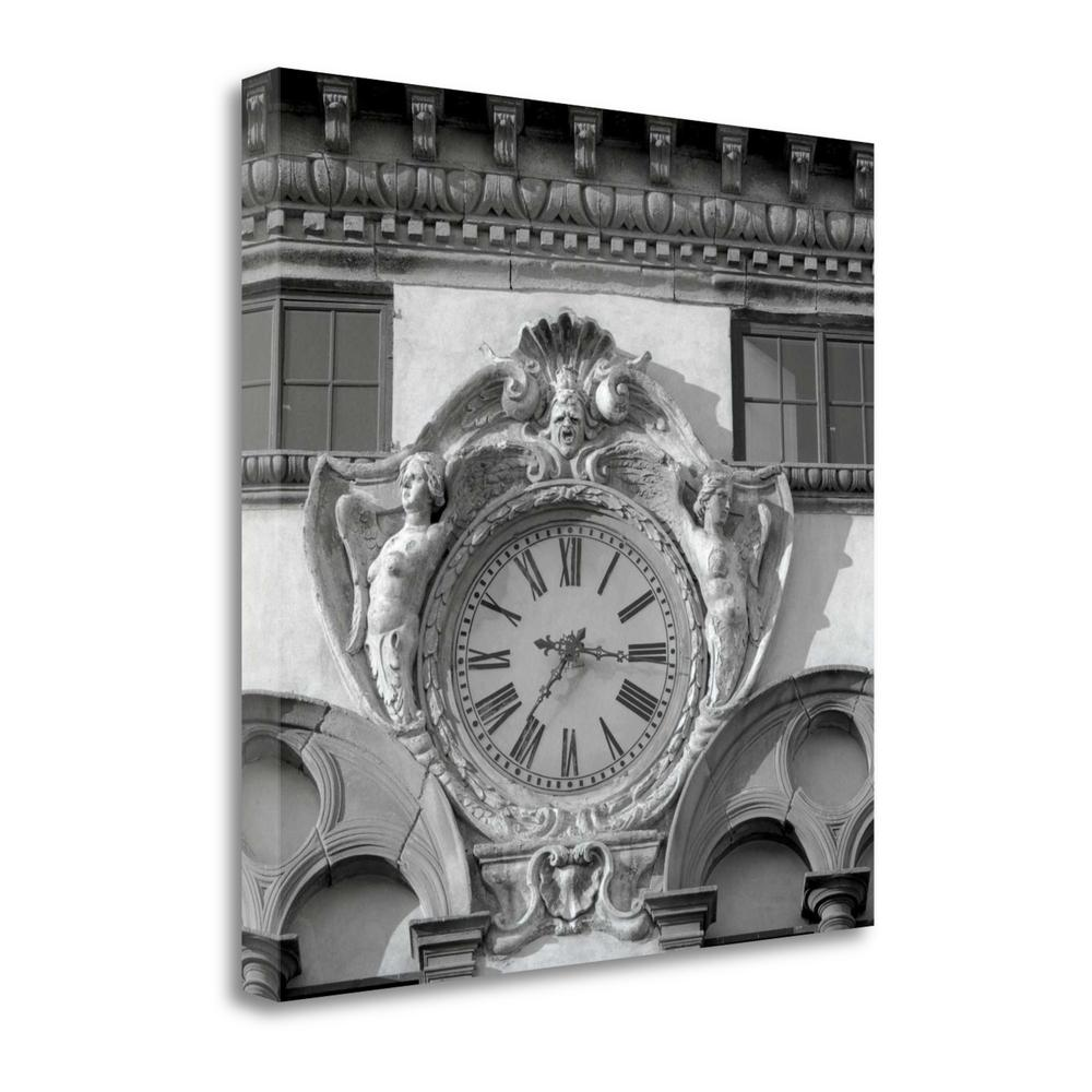 """""""Il Grande Orologio - 2"""" By Alan Blaustein, Giclee Print on Gallery Wrap Canvas, 1.5"""" x 20"""", ICABIT2804A-2020c. Picture 1"""