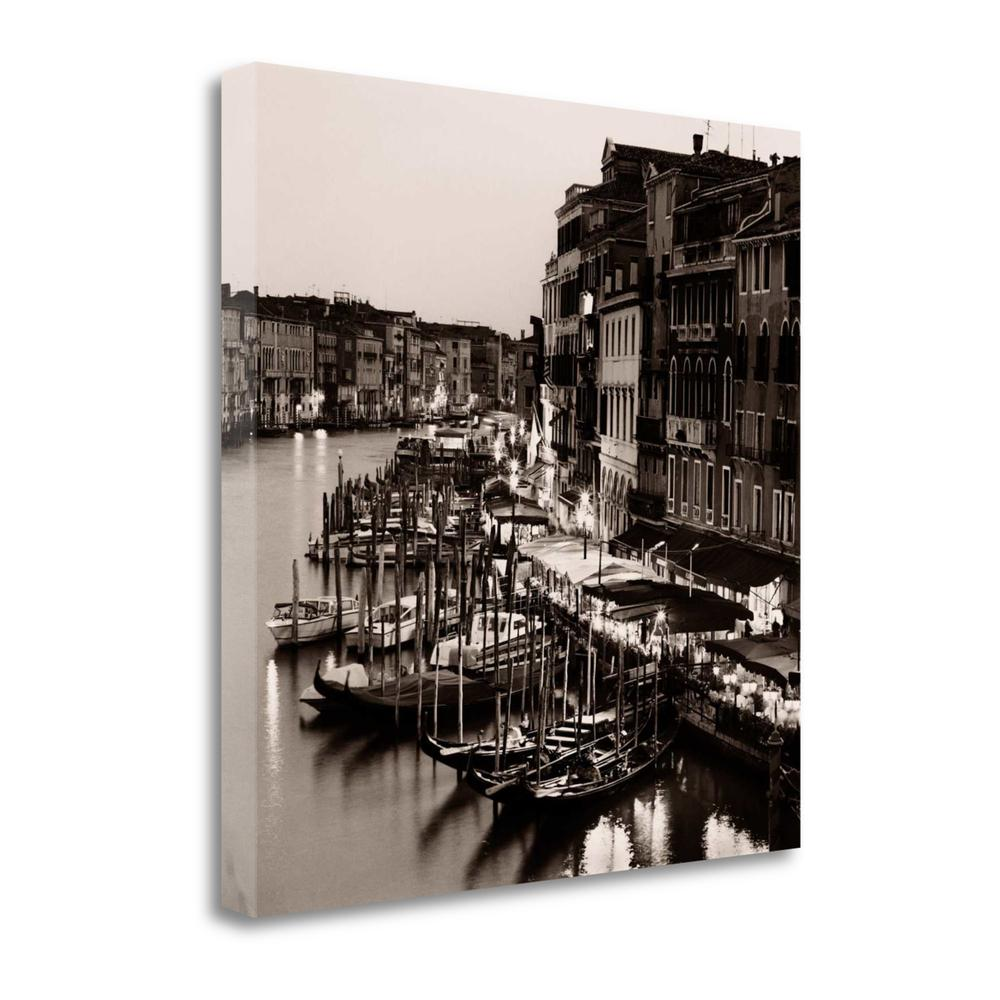 """""""Ponte Di Rialto"""" By Alan Blaustein, Giclee Print on Gallery Wrap Canvas. Picture 1"""