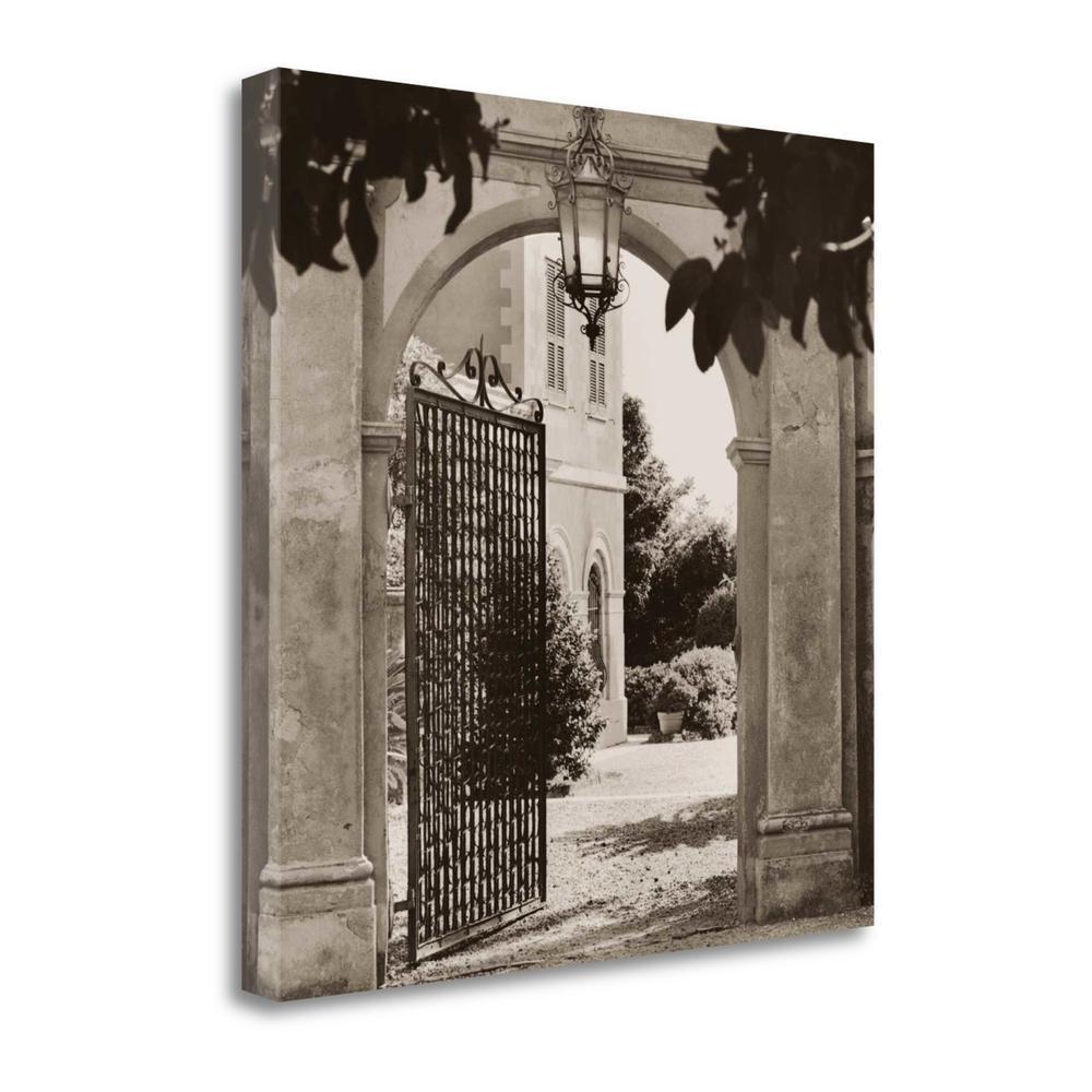 """""""Giardino Mortola"""" By Alan Blaustein, Giclee Print on Gallery Wrap Canvas. Picture 1"""