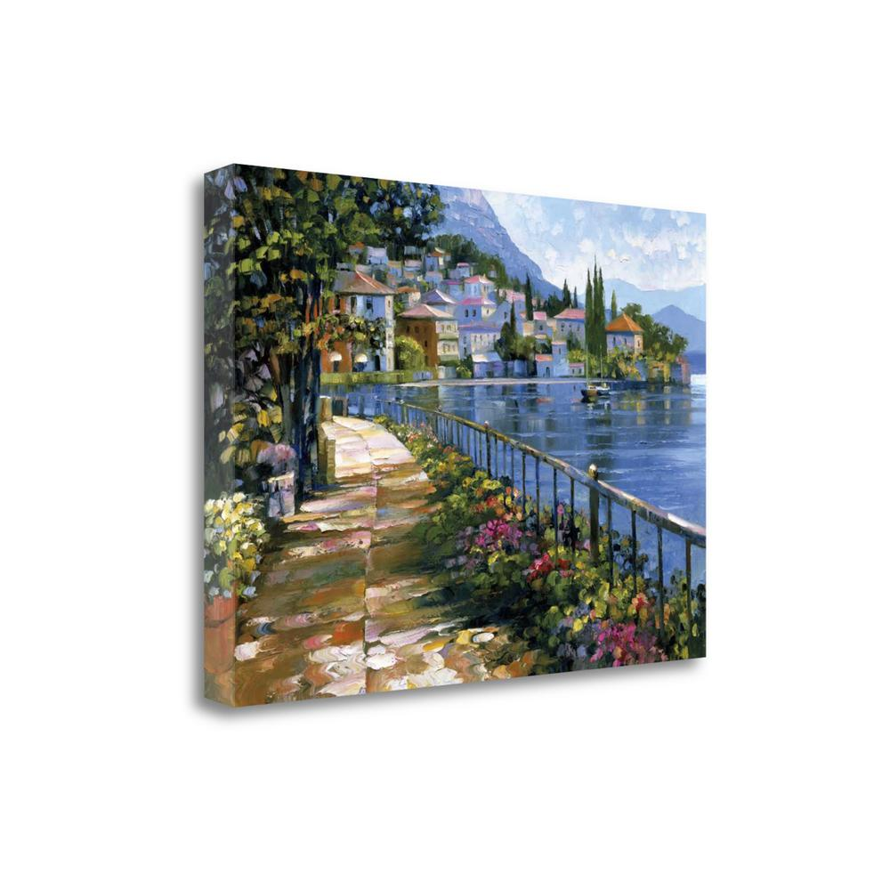 """""""Sunlit Stroll"""" By Howard Behrens, Giclee Print on Gallery Wrap Canvas. Picture 1"""