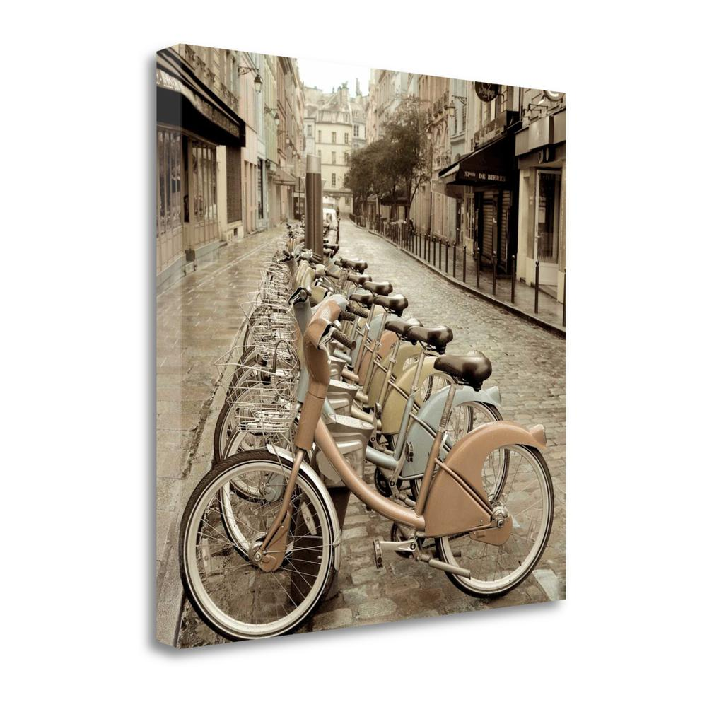 """""""City Street Ride"""" By Alan Blaustein, Giclee Print on Gallery Wrap Canvas. Picture 1"""
