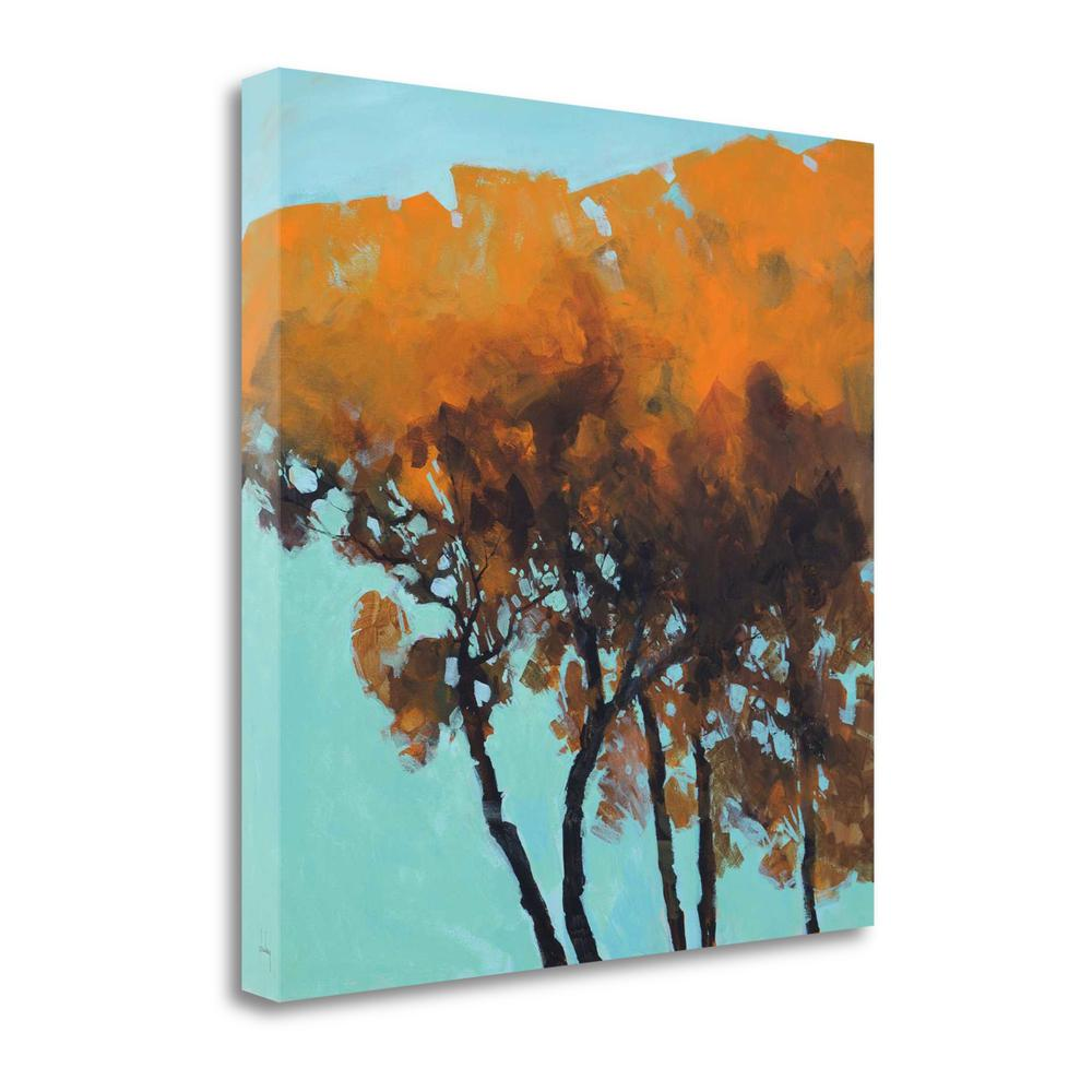 """Five Trees"" By Paul Bailey, Fine Art Giclee Print on Gallery Wrap Canvas. Picture 1"