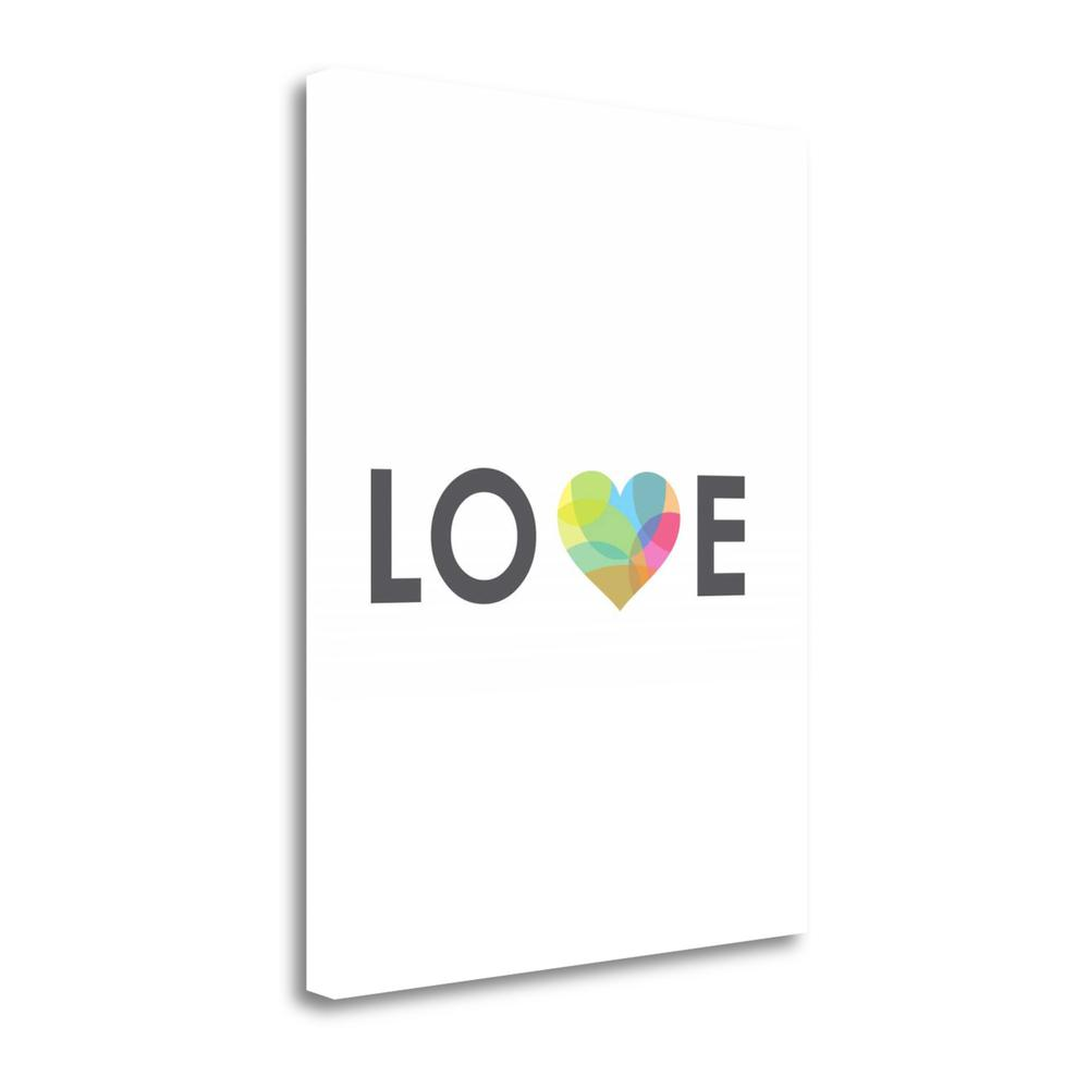 """""""Love"""" By Volkan Dalyan, Fine Art Giclee Print on Gallery Wrap Canvas. Picture 1"""
