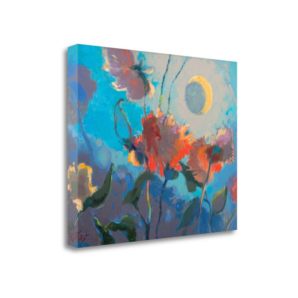 """""""Dahlia Moonglow"""" By Beth A. Forst, Giclee Print on Gallery Wrap Canvas. Picture 1"""