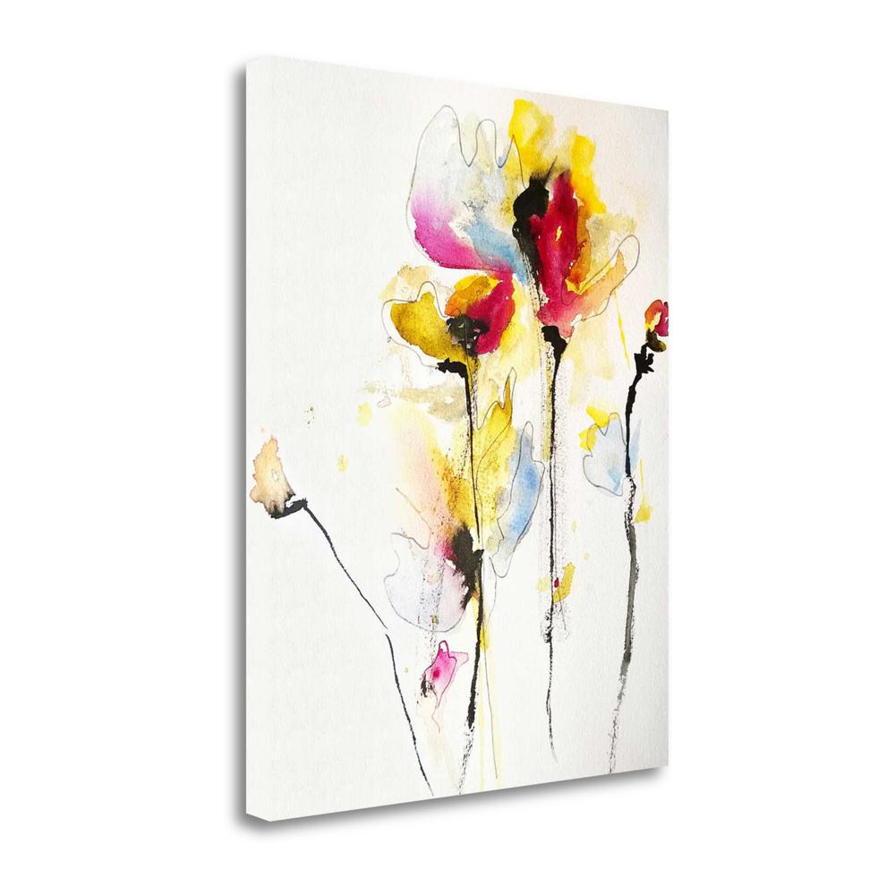 """""""Sweet Peas"""" By Karin Johannesson, Giclee Print on Gallery Wrap Canvas. Picture 1"""