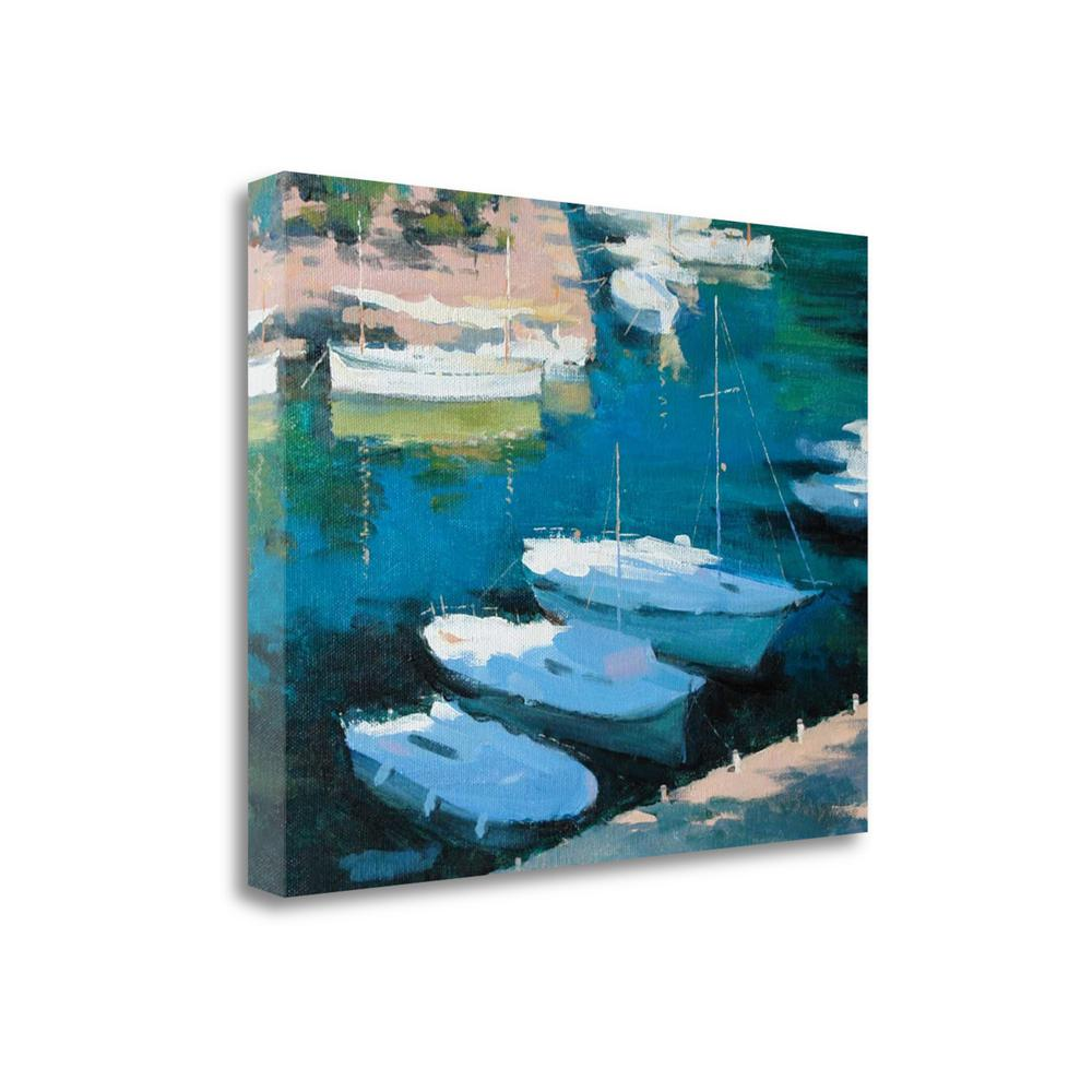 """""""Marina 16"""" By Alex Hook Krioutchkov, Giclee Print on Gallery Wrap Canvas. Picture 1"""