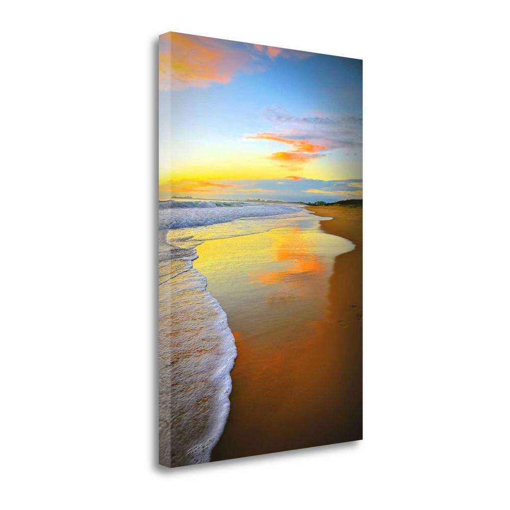 """""""Beach Sunrise"""" By Tracie Louise, Fine Art Giclee Print on Gallery Wrap Canvas. Picture 1"""