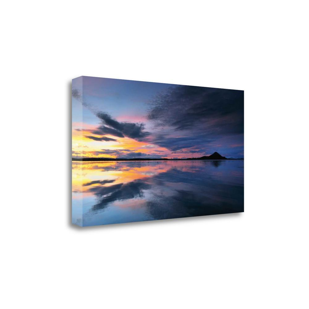 """Lake Myvatn Reflections"" By Andy Mumford, Giclee Print on Gallery Wrap Canvas. Picture 1"